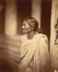 Portrait of an unidentified woman, Eastern Bengal.